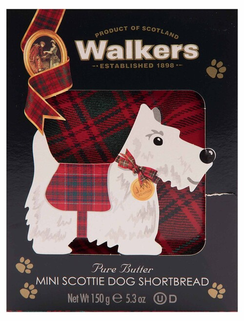 Walkers Shortbread 3D Scottie Dog Carton