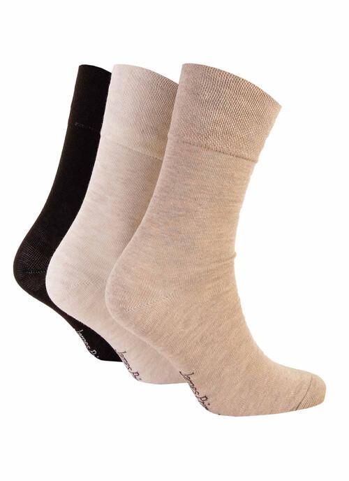 Stone 3 Pack Socks