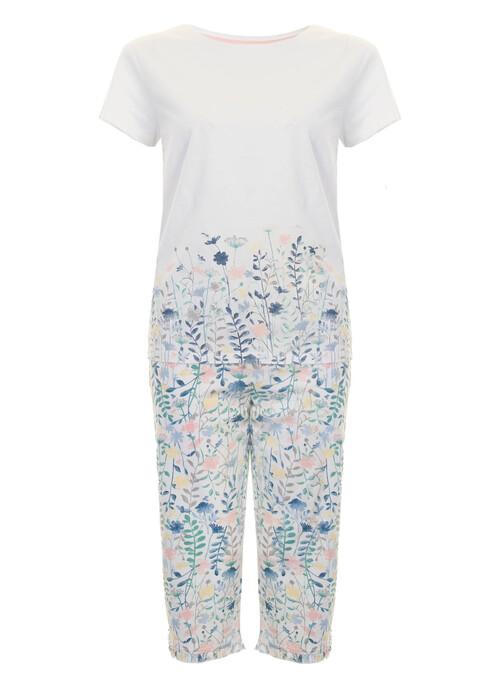 Ivory Cotton Pyjama Set