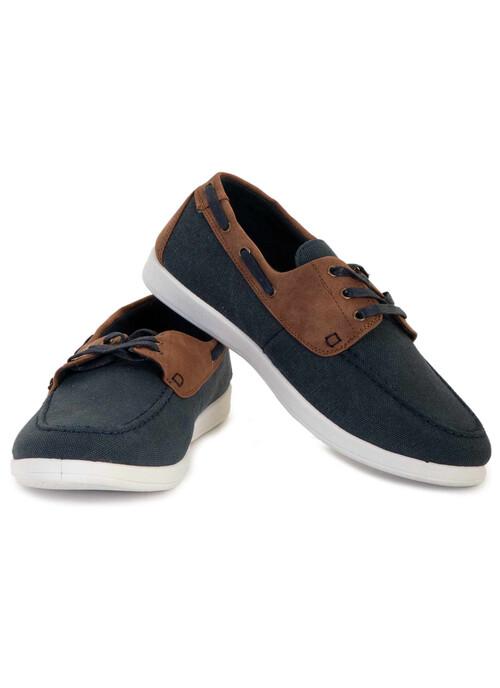 Navy Mens Boat Shoe