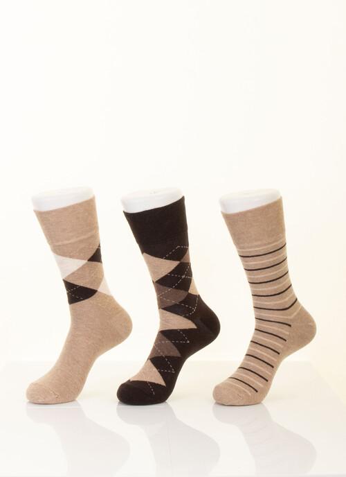 Argyle 3 Pack Socks