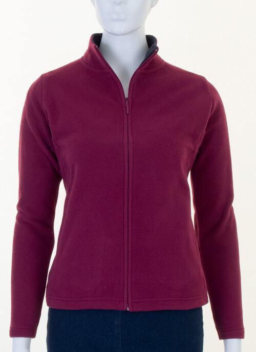 Cerise Fleece Jacket