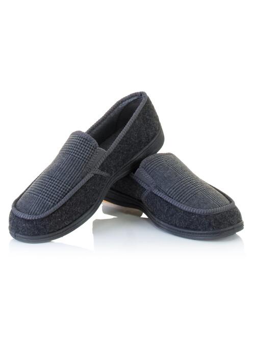 Grey Felt Slipper
