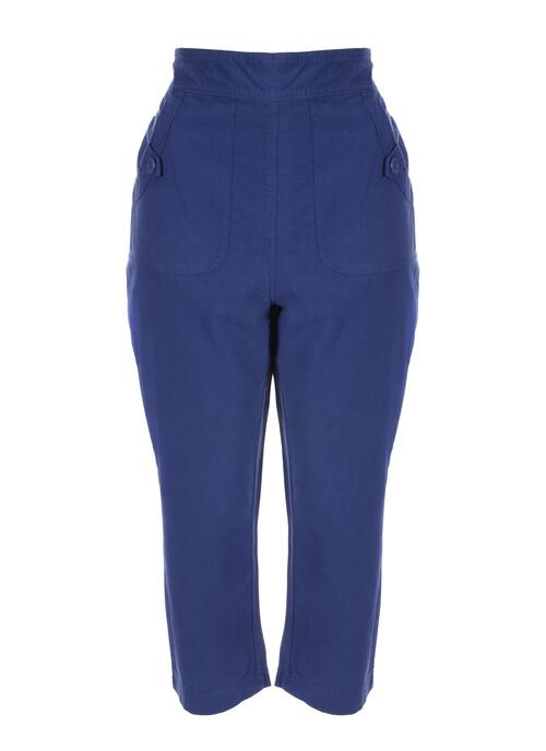 Denim Crop Trouser