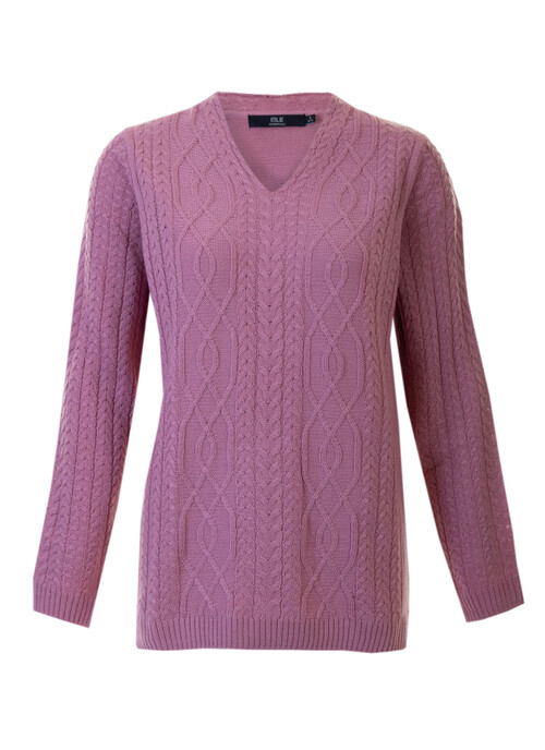 Pink Cable Jumper