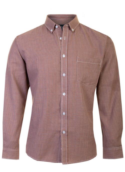 Tan Check Shirt