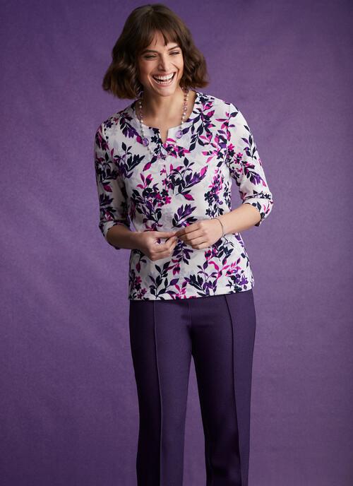 """Purple  Trouser 27"""""""