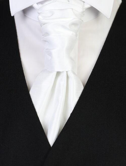 Ivory Ruche Tie