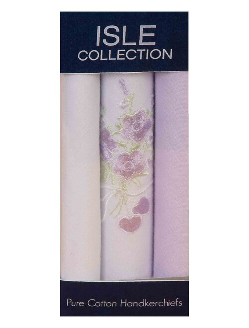 Floral Lilac Hankies